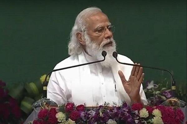 PM Modi lays foundation