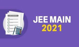 jee-main admit card 2021