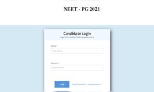 NEET PG 2021 window