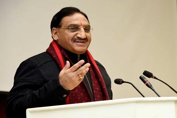 Ramesh_Pokhriyal minister