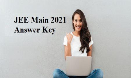 jee main answer key