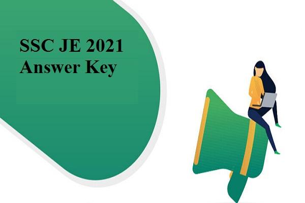 SSC JE 2021 answer key