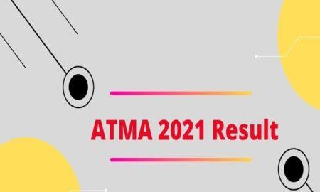 ATMA result date 2021