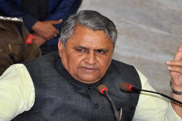 education minister, Vijay Kumar Choudhury