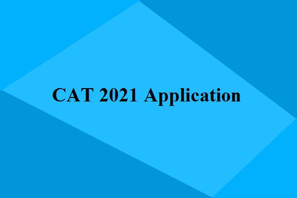 CAT-2021 application