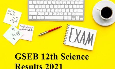 Gujarat Board Class 12th Result