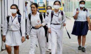School reopens in Uttar Pradesh, Karnataka