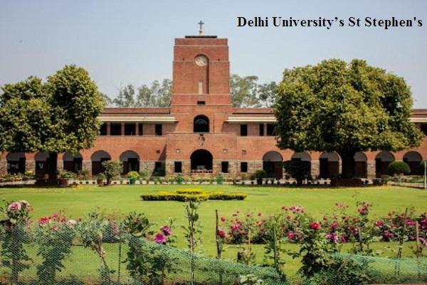 Delhi University's St Stephen's College