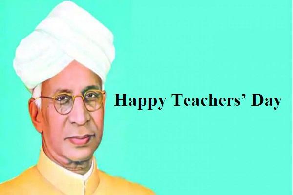 Dr. Sarvepalli Radhakrishnan teachers day