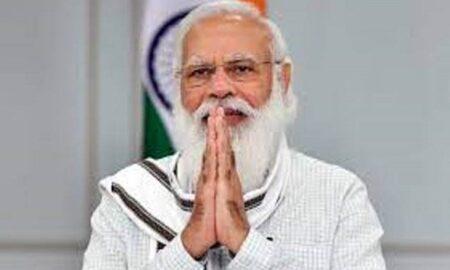 PM Narendra Modi greeted