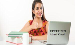 UPCET 2021 admit card