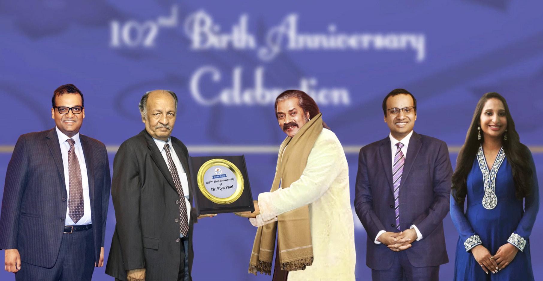 Hariharan Felicitation by Family Members