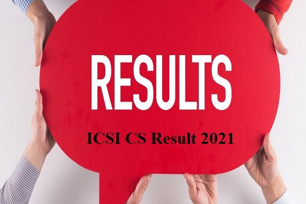 ICSI CS Professional Result 2021