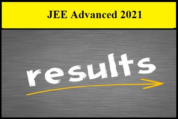 JEE Advanced 2021 result